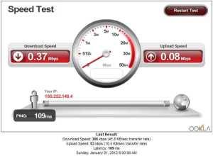 XL speedtest